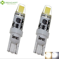 2 x T10 149 168 W5W 2W Sapphire LED​ 180-250LM 6000-6500K Cool White Light for Waterproof  Car Lndicator (AC/DC12-16V)