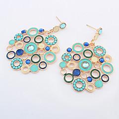 Earring Stud Earrings / Drop Earrings Jewelry Women Alloy 1set Silver