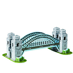 sydney harbour bridge tredimensionale puslespil