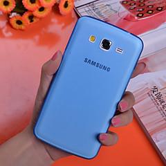 Για Samsung Galaxy Θήκη Εξαιρετικά λεπτή / Διαφανής tok Πίσω Κάλυμμα tok Μονόχρωμη PC Samsung Grand 2