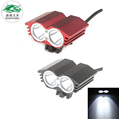 Zweihnder  Waterproof 3-Mode 2xCree XM-L T6 White Light Headlamp (1200LM ,1x18650 Battery Pack)
