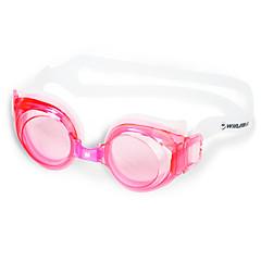 Winmax® Unisex Red/ Blue/ Black PC & Silicone Anti-Fog/Adjustable Size/Anti-UV Swimming Goggles