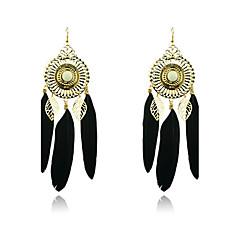 Lureme®Bohemia Feather Earrings