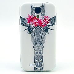 lille smukke hjorte TPU blød etui til Samsung Galaxy s4 i9500