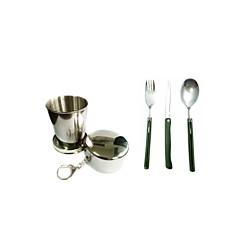 Aluminium / ABS beker / vork / spatel / Spoon Others Sets