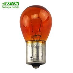 10PCS XENCN PY21W(S25) BAU15s 12V 21W Amber Car External Lights Turn Signals Additional Brake Lights