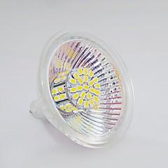 Mr16 3w 50x3020 120-150lm naturlig hvid / varm hvid lys led spotløg (dc12v)