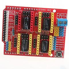 cnc kilpi v3 kaiverrus kone 3d tulostimen a4988 laajennuskortilla kuljettaja board for arduino