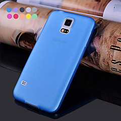 GYM Ultra Thin Translucent Matte Soft Case for Samsung Galaxy S5 Mini(Assorted Colors)