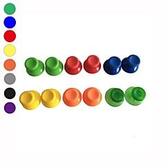 6 x analogico colorato sostituzione cap bastone per il regolatore microsoft xbox 360