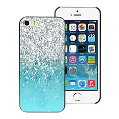 Colorful Sand Design Aluminum Hard Case for iPhone 4/4S