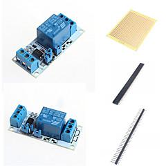 1 módon relé modul optikai csatolóval és tartozékok