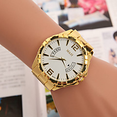 Men's Watches Europe And The United States Selling Fake Swiss Quartz Calendar Hand Watch With Gold Alloy