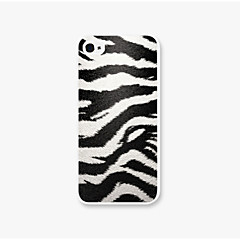 White Tiger Leopard Grain Pattern PC Phone Case Back Cover Case for Apple iPhone5/5
