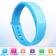 Unisex Smart Bracelet Multifunctional Reminder 3D Pedometer Watch