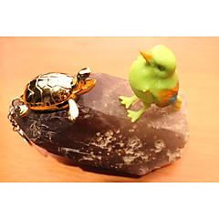 criativa tartaruga ouro butano isqueiro