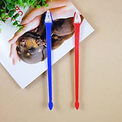 doppio spazzolino per gli animali domestici