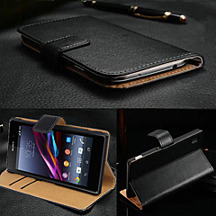 iso d musta aito nahka läppä koko kehon asia Sony Xperia z3
