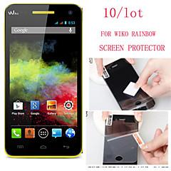 (10 stuks) van hoge kwaliteit high definition screen protector voor Wiko regenboog