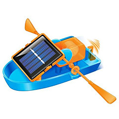 Spielzeug-Set diy solar powered Ruderboot, umweltfreundliche