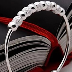 Sterling Silver Bracelet Cuff Bracelets Wedding/Party/Daily Jewelry