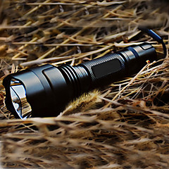 Lights LED Flashlights/Torch Handheld Flashlights/Torch LED 200 Lumens 5 Mode Cree XR-E Q5 18650 Rechargeable Tactical Aluminum alloy