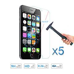 """5pcs warm te koop screen protector gehard glas guard film voor Apple iPhone 6s plus / 6 plus 5,5 """""""