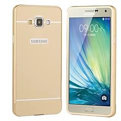 Για Samsung Galaxy Θήκη Θήκες Καλύμματα Επιμεταλλωμένη Πίσω Κάλυμμα tok Μονόχρωμη Σκληρή Ακρυλικό για SamsungA5 (2017) A3 (2017) A7
