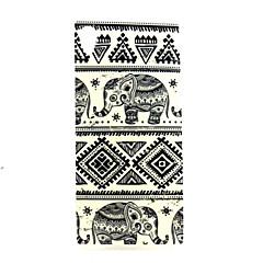 Elephant  Pattern TPU Soft Case for Sony Xperia M4 Aqua