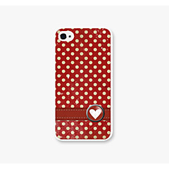 Dot Pattern PC Phone case Back Cover Case for iPhone4/4S