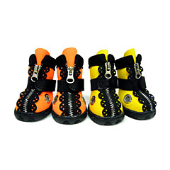 Gatos / Perros Zapatos y Botas Amarillo / Naranja Primavera/Otoño Material Mixto