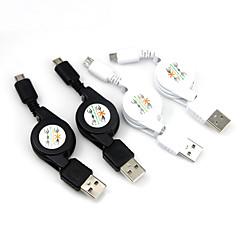 intrekbare micro USB naar USB opladen data kabel voor Samsung Galaxy S3 S4 S5 HTC Huawei mobiele telefoons