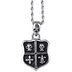 Toonykelly® Stainless Steel Fashion Sexy Skull Skeleton Pendant Necklaces(1pc)