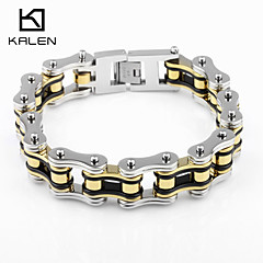 Kalen Men's Jewelry Stainless Steel Special Design Bike Chain Bracelets Christmas Gifts