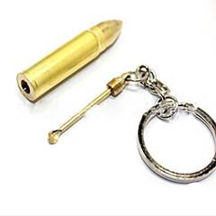 Bullet Earpick Alloy Key Chain Lanyards Daily 1pc