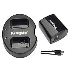 kingma® dwi pengecas + dinding usb pengecas untuk Sony NP-FW50 bateri alpha 7 a7 7s A6000 nex-3n nex-n slt-A33 bateri
