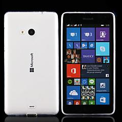 Voor Nokia hoesje Ultradun / Transparant hoesje Achterkantje hoesje Effen kleur Zacht TPU Nokia Nokia Lumia 830 / Nokia Lumia 535