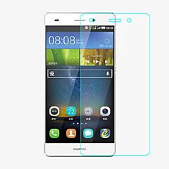 professionel high gennemsigtighed lcd krystalklar skærmbeskytter med renseklud til Huawei p8 mini