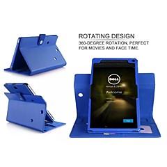Handschlaufe ledernen Standplatz-Fall-Abdeckung Tasche für Dell venue8 7000