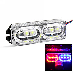 Merdia 706 2W 40LM Red and Blue Light Brake Light / Decorative Lights/Daytime Running Lights for Car(1 PCS/12V)
