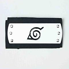 Biżuteria / Nakrycie głowy Zainspirowany przez Naruto Naruto Uzumaki Anime Akcesoria do Cosplay Nakrycie głowy Černá Slitina / Elana