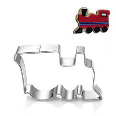 kolejowe pojazdu locmotive kształt foremki owoce wycięte formy ze stali nierdzewnej
