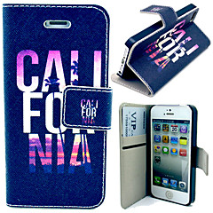 C L Pattern with Card Bag Full Body Case for iPhone 4/4S