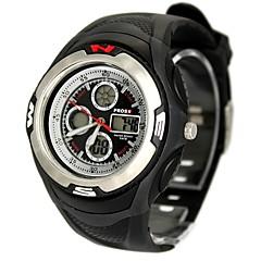 Men's Fashion Plastic Band Black Digital Watch