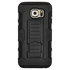 Na Samsung Galaxy Etui Odporne na wstrząsy / Z podpórką Kılıf Etui na tył Kılıf Zbroja PC SamsungS7 edge / S7 / S6 edge plus / S6 edge /