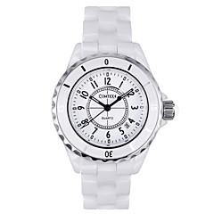 COMTEX S6291L-3 ceramic fine ladies watch quartz watch