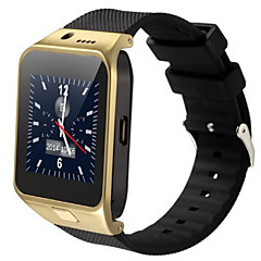 gv09 draagbare slimme horloge handsfree bellen / media control / camerabesturing / activiteit tracker / stappenteller voor android