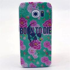 födelsen till döden mönster pc hårda fallet för Galaxy S3 / S4 / S5 / S6 / S6 kant / S4 mini / S5 mini