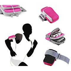 3.0のジッパースタイルの腕章バッグ電話ケースのカバーを実行しているアウトドアスポーツ ''  -  5.5 ''スマートフォン