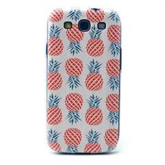 ananas mønster pc telefon tilfældet for samsung s3 i9300